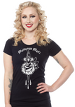 Sourpuss memento mori shirt - Forever Tattooed
