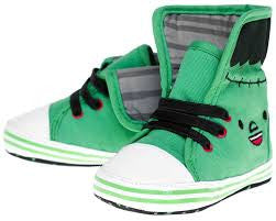 Sourpuss Monster Sneaker Shoes - Forever Tattooed