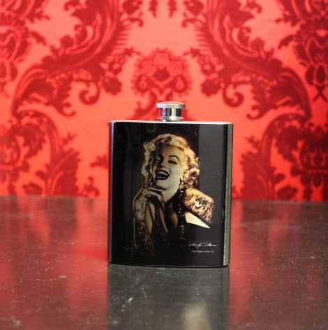 Marilyn Monroe flask - Forever Tattooed