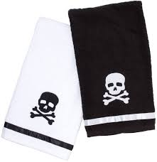 Sourpuss Skull Towel Set - Forever Tattooed