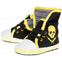 Sourpuss skull and blot sneakers - Forever Tattooed