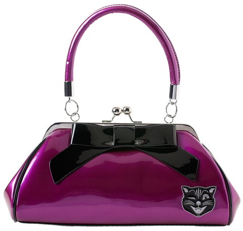 Purse Floozy Jinx Purple - Forever Tattooed
