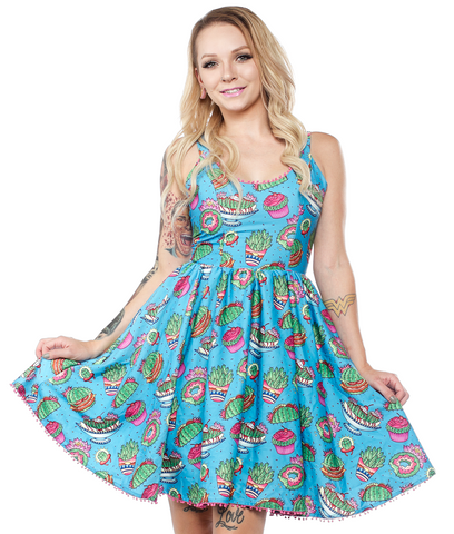 Sourpuss Dress Sweet Prickly Delights - Forever Tattooed