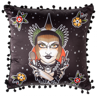 SourPuss War Paint Pillow - Forever Tattooed