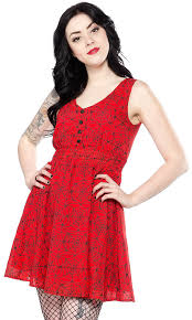 Sourpuss Caught In The Web Dress - Forever Tattooed