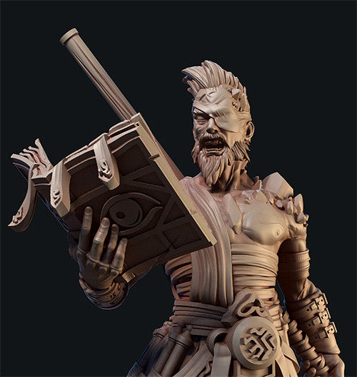 54mm Sculpt of Bastian Oriel, The Lore Keeper