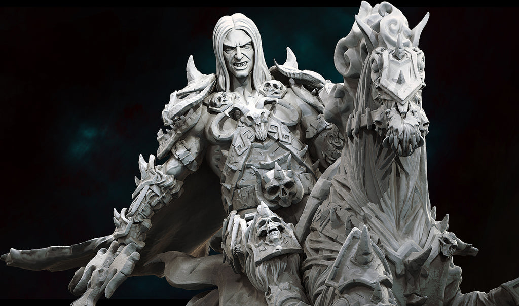Lord Fazeal Sculpt Reveal