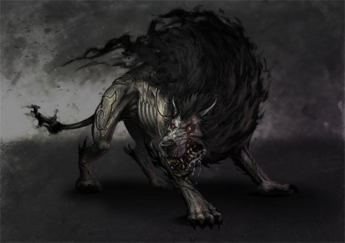 Gloom the Shadow Hound