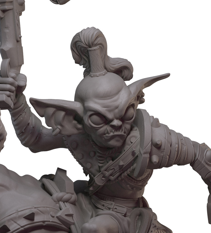 Jaegar, Goblin Hunter Sculpt Revealed.