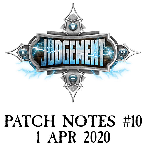 Patch Notes #10