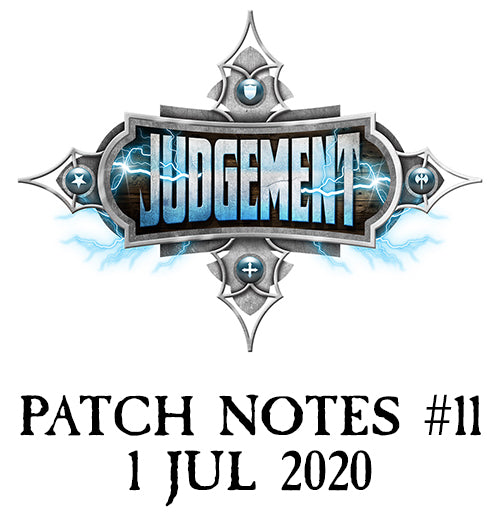 Patch Notes #11