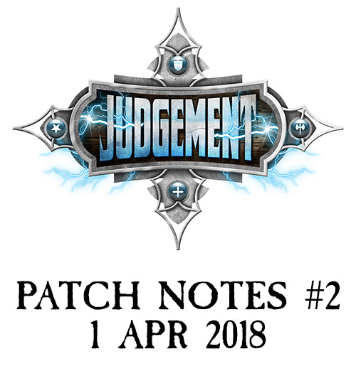 Judgement Patch Notes #2