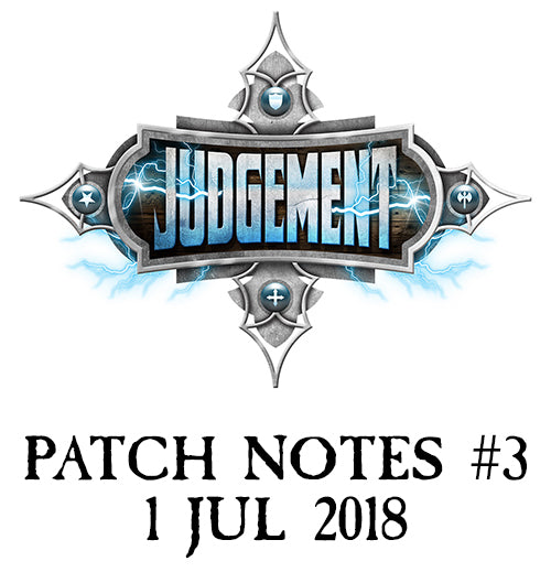 Judgement Patch Notes #3