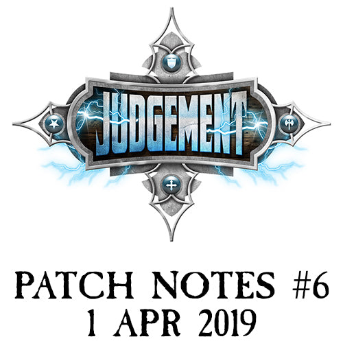 Judgement Patch Notes #6
