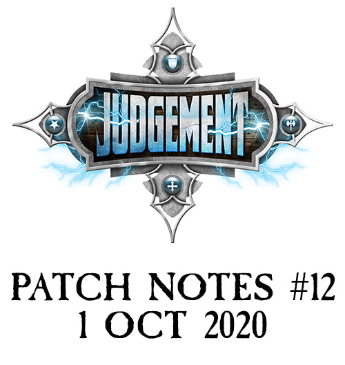 Patch Notes #12
