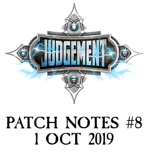 Patch Notes #8