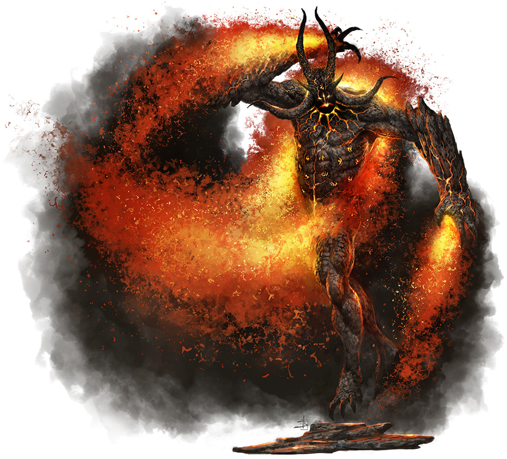 Inferno, Fire Elemental