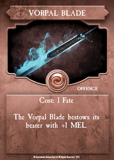 Brok is a great choice for the Vorpal Blade