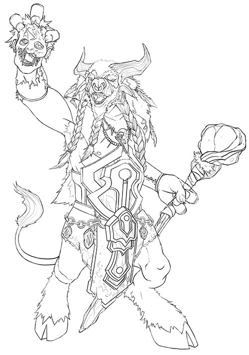 Doenrakkar Final Sketch