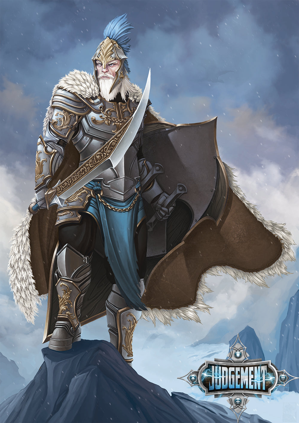 Sir Marcus, The Winter Knight
