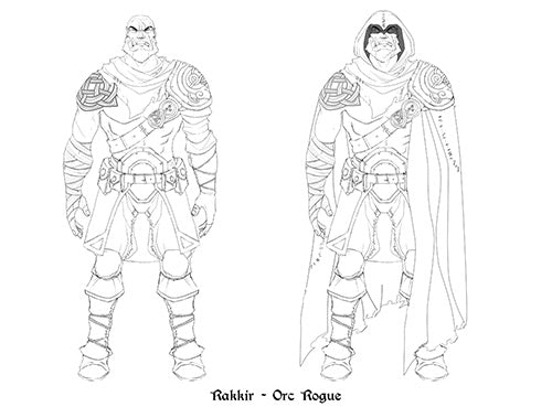 Rakkir initial illustrations