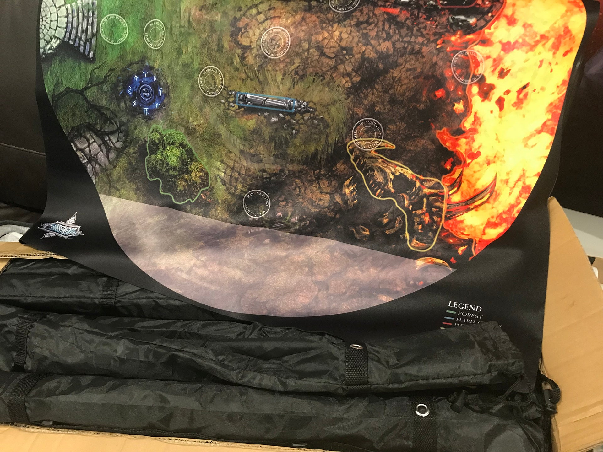 Scorched Earth neoprene mats