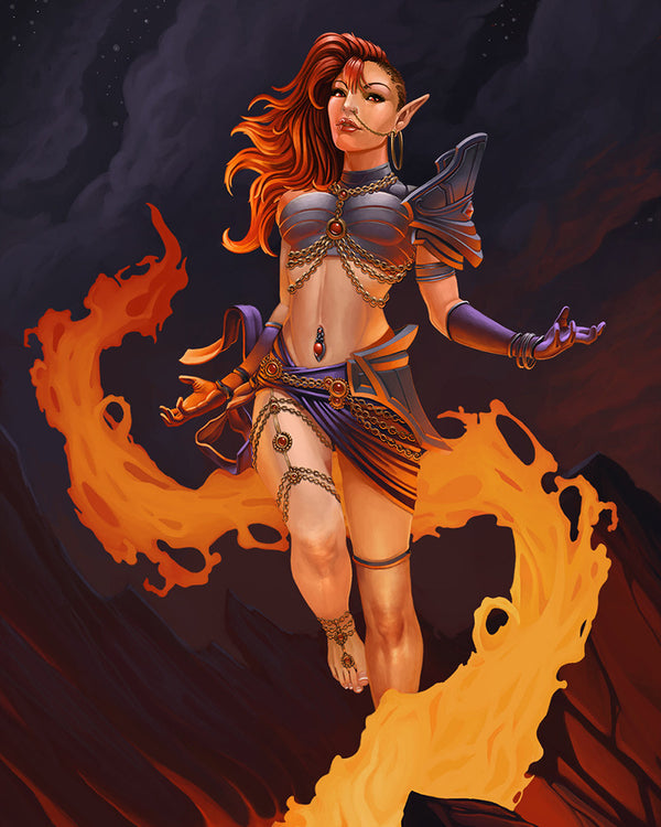 Istariel - Elf Fire Mage (Aggressor)