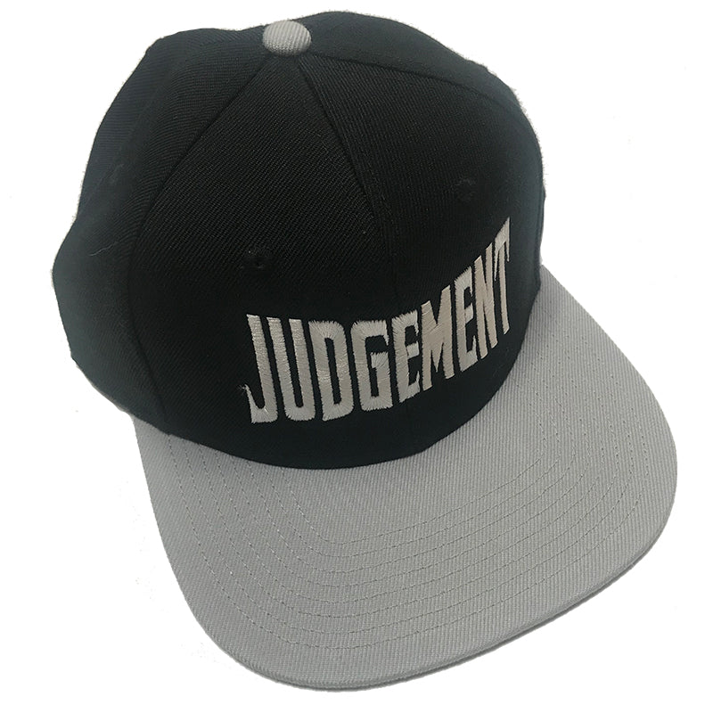 Judgement Embroidered Cap