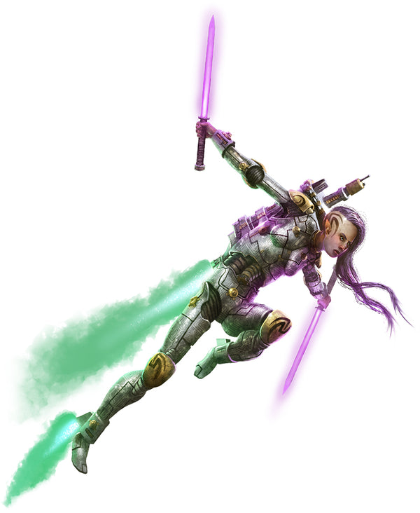 Nephenee - Elf Warrior (Aggressor)