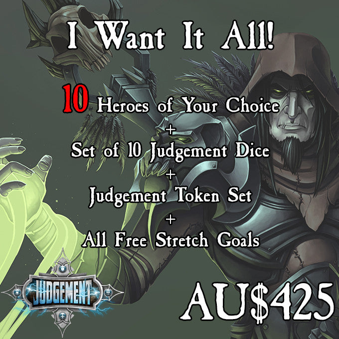 I Want It All - 10 Heroes