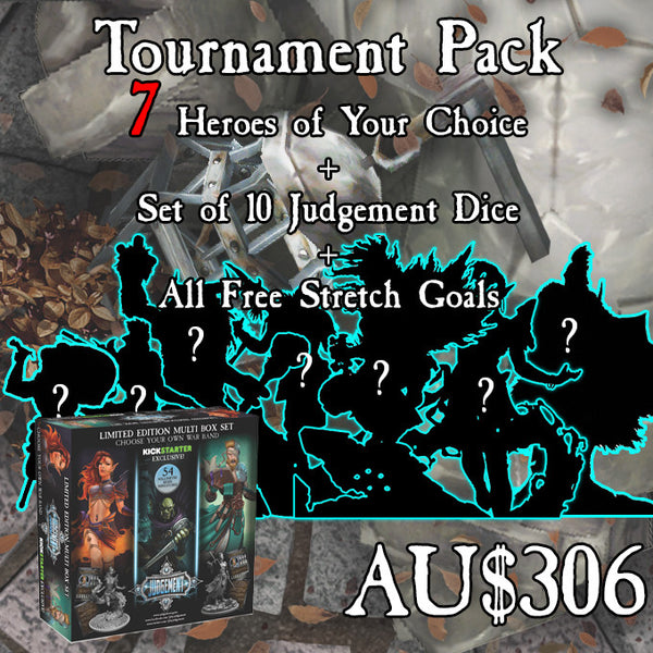 Tournament Pack - 7 Heroes