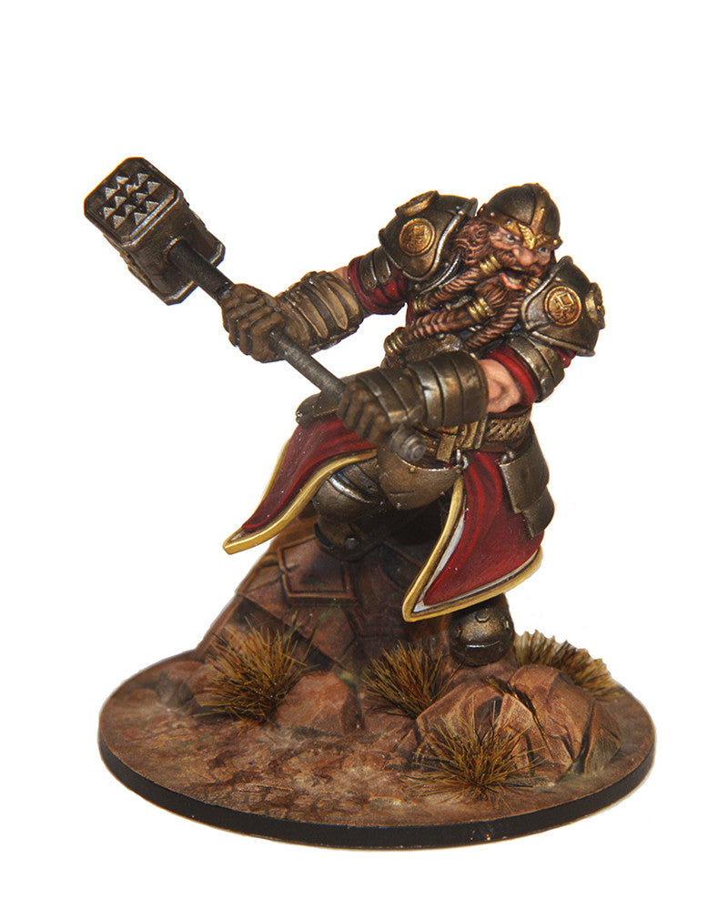 Thrommel Ironbeard - Dwarf Warrior (Defender)