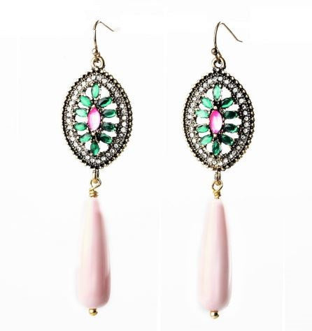 Ethnic Handmade Long Earrings