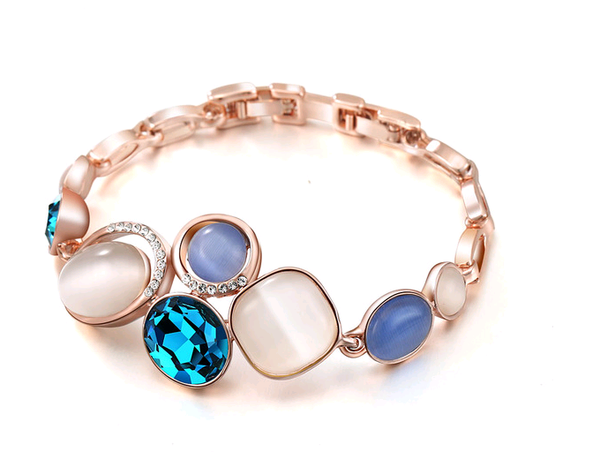 French Riviera Blue Bracelet