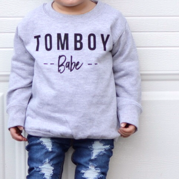 Tomboy Babe Pullover