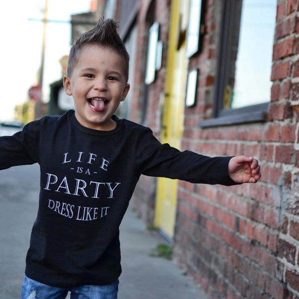 Life is a Party Long Sleeve