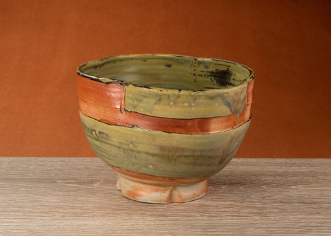 Barker Meadow Bowl, made by Julie Naster using a wood fired kiln