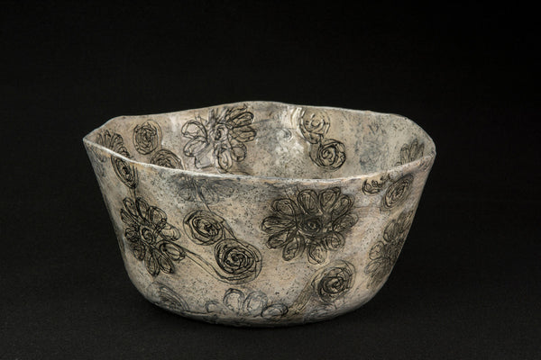 Starry Starry Night Collection Bowl Vente - Flaming flowers and swirling clouds - 52RHODA