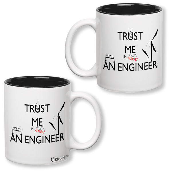 Science Engineer Mug - TRUST ME IM ALMOST AN ENGINEER