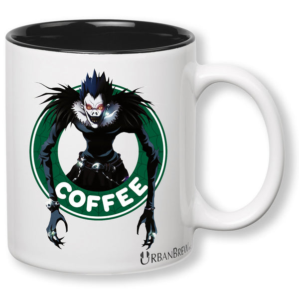 Death Note Ryuk - Starbucks Parody Mug