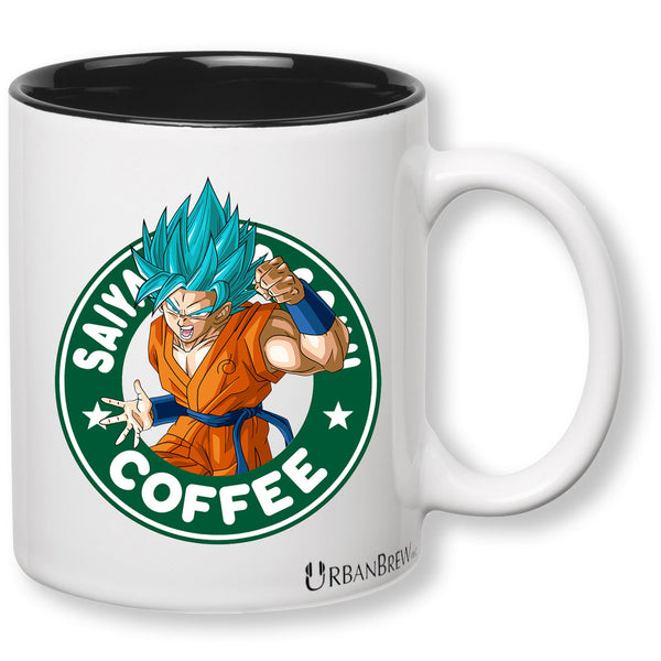 Dragon Ball Z Goku Super Saiyan - Starbucks Parody