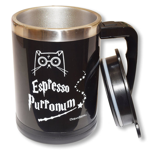 Urbe The Cat Espresso Purronum - Self Stirring