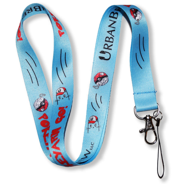 Pokemon Pokecat Lanyard - Yellow/Blue
