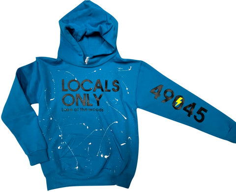 Pullover Hooded Sweatshirt-Locals Ony