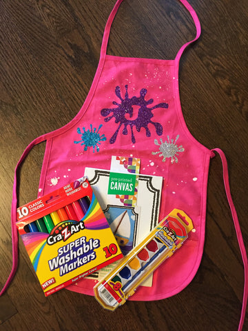 Art Apron Gift Set