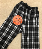 Flannel Pajama Pants -Black and White