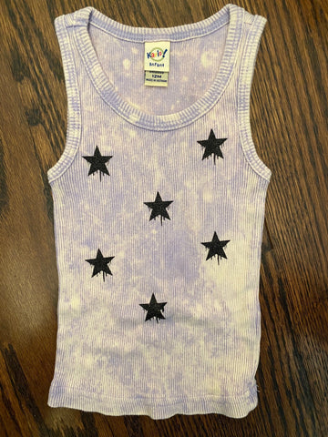 Purple Tie Dye Beater-size 12 mos-RUNS SMALL-GIT