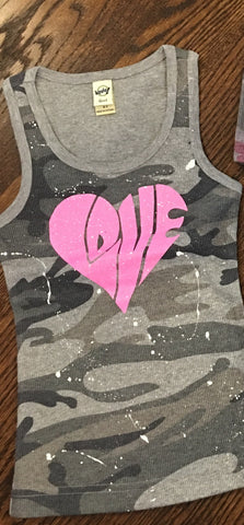 Camo tank-size 6X (runs small...order up a size)
