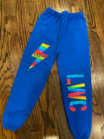 LWC Sweatpants-sz M-GIT