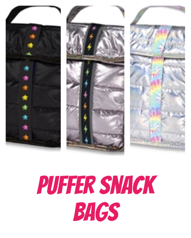 Puffer Insulated Lunch/Snack Bag